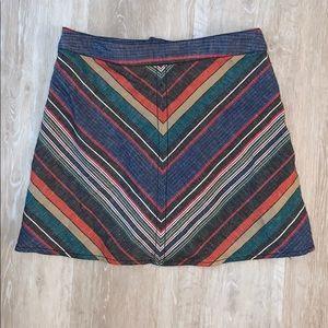 Free People A-line Mini skirt